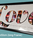 Love_23x50cm long frame