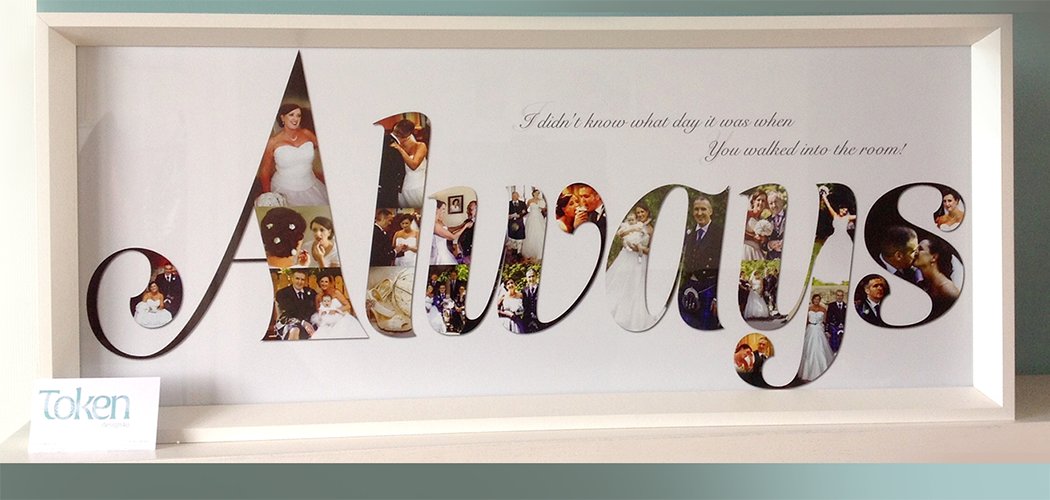 Special occasion framed gifts